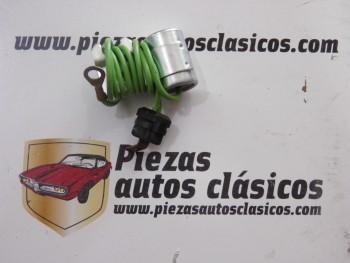 Condensador para delco Bosch Seat 124 D/LS y Especial 128, 1430 y 1200 y 131 Supermirafiori
