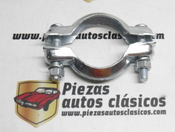 Brida colector escape 58mm Renault 4,5,6,7,8,10....Simca, Seat....