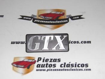 Anagrama GTX Rejilla Delantera Renault 18 Ref:7704001544