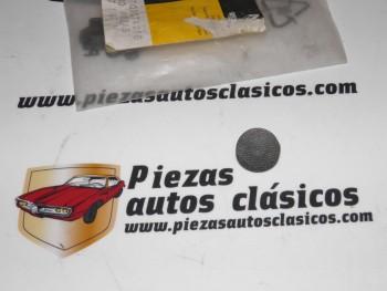 Clip opturador gris oscuro para moldura de puerta Renault 11 Ref: 7703074266