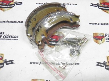 Juego zapatas de freno Citroen Xsara y Peugeot 306 Ref: 51602