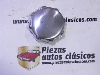 Tapón de gasolina en aluminio pulido Renault 4CV, Dauphine, Florida, Caravelle, 8 y 10