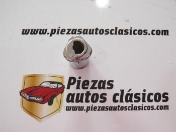 Casquillo cromado bombín de cerradura portón trasero Renault 5 Ref: 7700657694