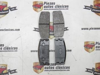 Juego De Pastillas De Frenos Delanteras Renault 8 y 10 (sin pasadores)