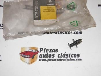 Clip Fijación Paragolpes Delantero Renault Cilo I,Twingo I Espace IV... Ref:7703072345