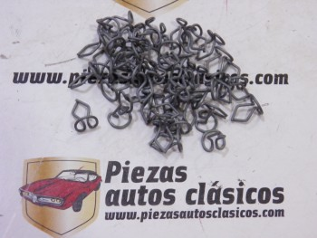 Kit de 50 grapas 13mm. tapizado/moldura Renault 4, 5, 6, 7..., Simca 1000 y 1200