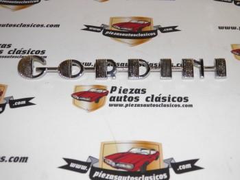 Anagrama GORDINI Renault Gordini