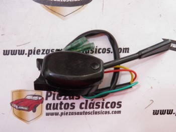 Conmutador de intermitencia Citroen 2CV Negro