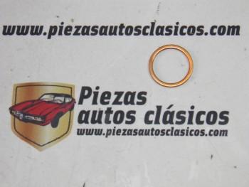 Anillo junta tapón roscado vaciado de aceite 27x22mm. Renault Ref: 7701039179