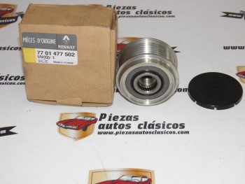 Polea Libre De Alternador Renault I,Kangoo,Espace III,Scénic I,Clio II ... Ref:7701477502