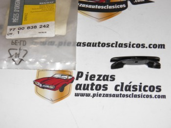 Pinza Sujeción Ventana Renault Cilo I/II, 19, Megane,Scénic.. Ref:7700838242/7700784059