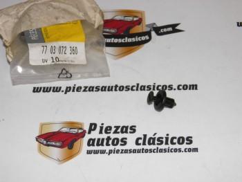 Tornillo Plástico Sujeción Paragolpes Delantero Renault Megane II, Clio II ... Ref:7703072360