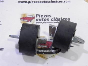 Par de silemblock de motor Renault 4 CV