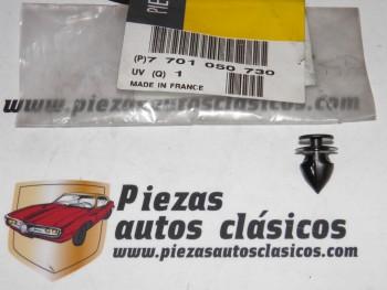 Grapa Sujeción Paragolpes Laterales Delanteros Renault Megane II, Scénic I... Ref:7701050730