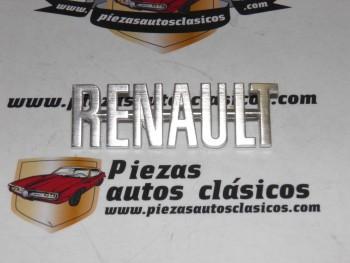 Anagrama Renault para Alpine y otros 87 x 28 mm (en aluminio,antiguo stock)