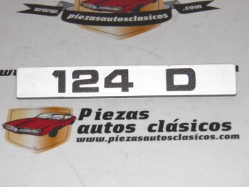 Anagrama 124 D , Seat 124 D (122mm.)