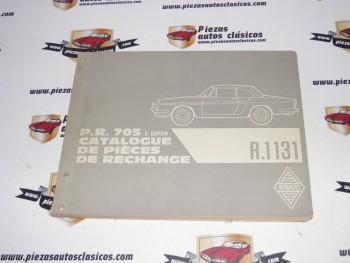 Pr 705 Renault  Caravelle  copia encuadernada