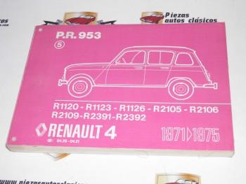 Pr 953  Renault 4 del 71 al 75  copia encuadernada