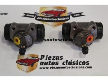 Pareja De Bombines De Freno Traseros Renault Super 5 , 9, 11, 14, 18, Fuego, Express,...Ref: 7701024265 / 7701024266
