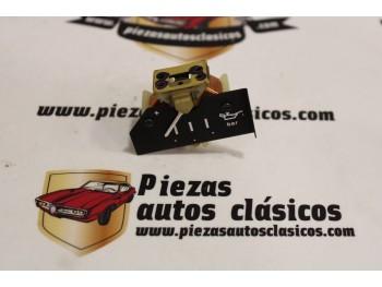 Manómetro indicador presión aceite Seat Panda, Trans Ref: Veglia 45.40.21