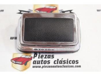 Cenicero Cromado - Negro Universal Coche Clásico