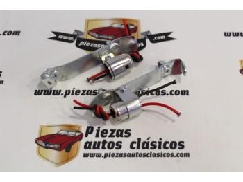 Pareja Portalámparas Pilotos Traseros Renault 4CV 1ª SERIE