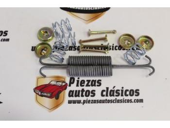 Juego Muelles Zapatas de Freno Delanteras Citroën 2CV y Dyane 6 (220x45mm)