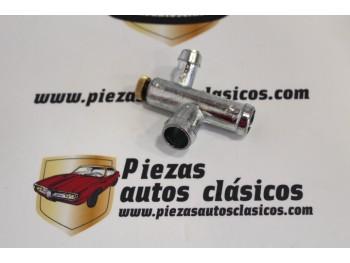 Purga Racord T Con Sangrador Bomba De Agua Renault 12, 15 y 17 Ref: 7702005701 / 7700521733