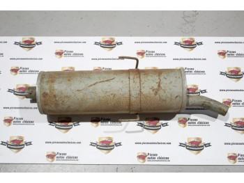 Silencioso trasero Peugeot 205 diesel Ref: fonos 61537