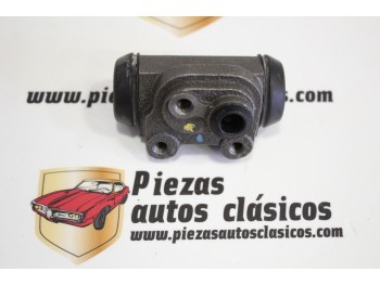 Bombín freno Renault Clío I (sin purgador) Ref: 7701033600