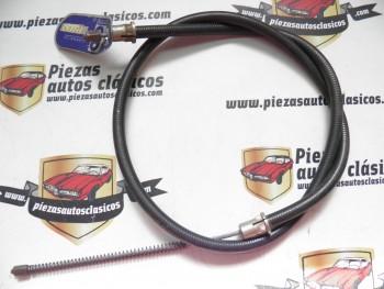 Cable freno de mano delantero izquierdo Renault 4 para tambor de 180mm.