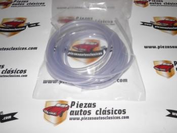 Tubo Vinilo Transparente Limpiaparabrisas 3,5x5,5mm (vendido en rollos de 5m)