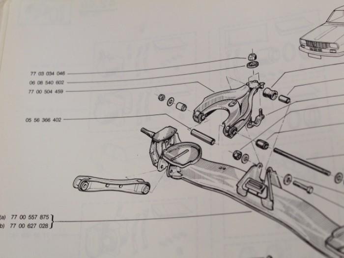** 2x FEBI 07248 Trasero Estabilizador anti roll Bar insertes vínculos BMW **